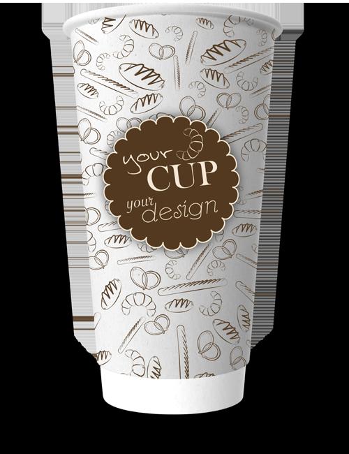 CupPrint Double Wall Becher 500ml 20oz